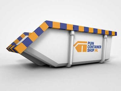 Blij met een rolcontainer voor bedrijfsafval