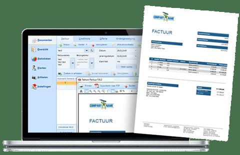 faktumfactuur - factuur software
